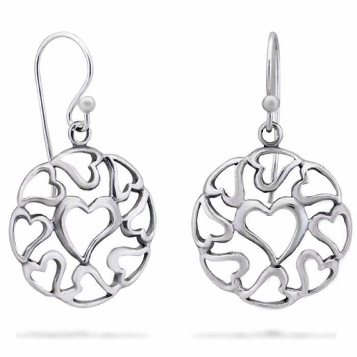 8 Patterns of Silver Earrings Online for your daily wear!